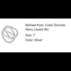 Michael Kors Wavy Layers Ring